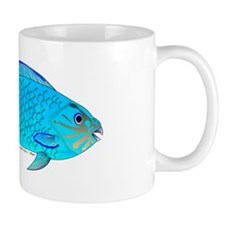 Blue Parrotfish f Mug