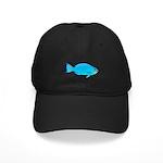 Blue Parrotfish f Baseball Hat