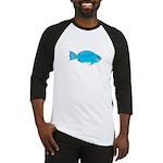 Blue Parrotfish f Baseball Jersey