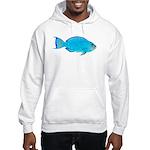 Blue Parrotfish f Hoodie