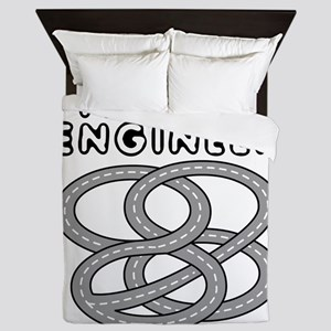 Traffic Engineer Interchange Queen Duvet