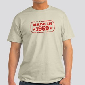 Made In 1959 Light T-Shirt