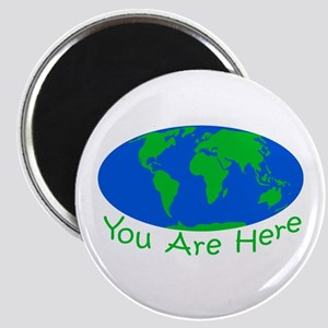 Earth Day You Are Here Magnet