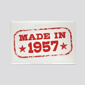 Made In 1957 Rectangle Magnet