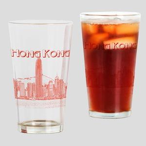 Hong Kong Drinking Glass