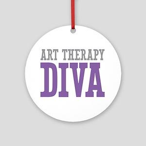 Art Therapy DIVA Ornament (Round)
