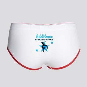GYMNAST COACH Women's Boy Brief
