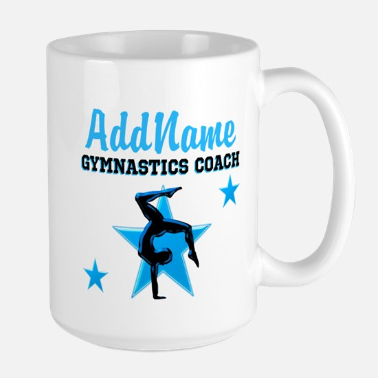 GYMNAST COACH Large Mug