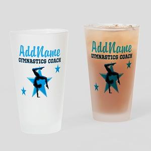 GYMNAST COACH Drinking Glass