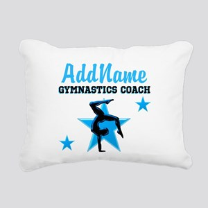 GYMNAST COACH Rectangular Canvas Pillow