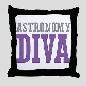 Astronomy DIVA Throw Pillow