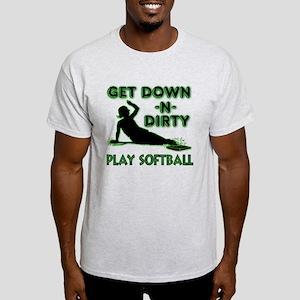 GREEN - DOWN-N-DIRTY T-Shirt