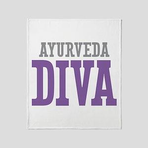 Ayurveda DIVA Throw Blanket