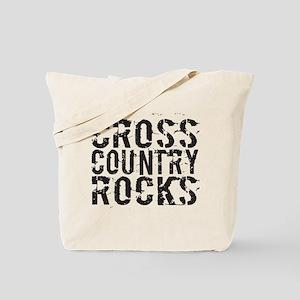 Cross Country Rocks Tote Bag