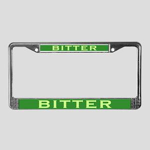 Bitter License Plate Frame
