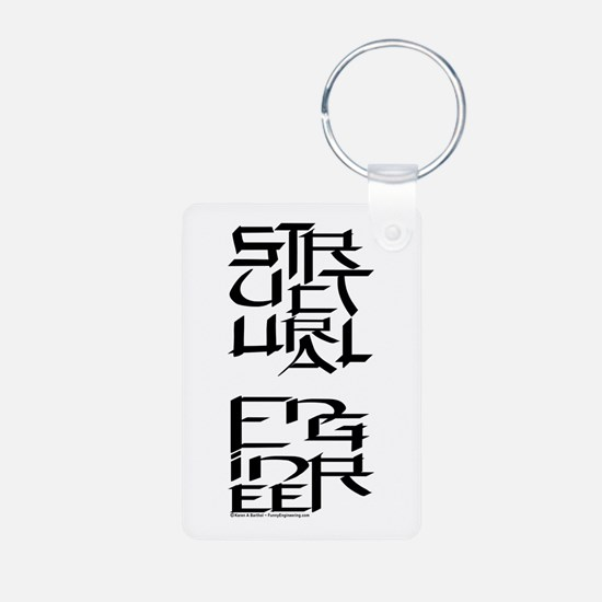 Structural Engineer Character Keychains