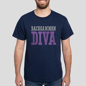 Backgammon DIVA Dark T-Shirt