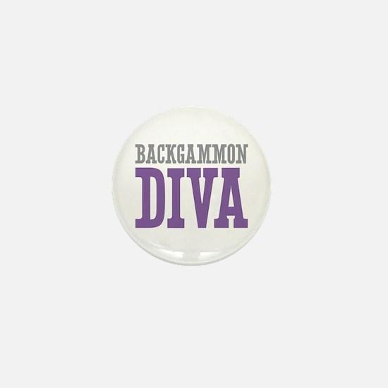 Backgammon DIVA Mini Button