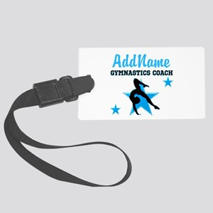 NUMBER 1 COACH Large Luggage Tag