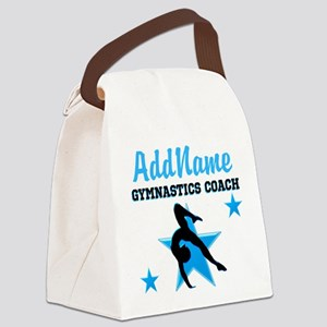NUMBER 1 COACH Canvas Lunch Bag