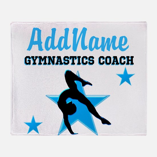 NUMBER 1 COACH Throw Blanket