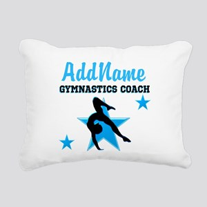 NUMBER 1 COACH Rectangular Canvas Pillow
