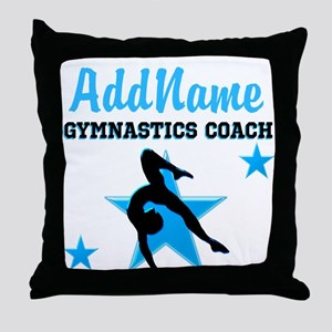 NUMBER 1 COACH Throw Pillow