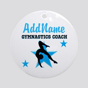 NUMBER 1 COACH Ornament (Round)