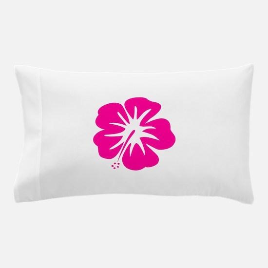 Hot Pink Hibiscus Pillow Case