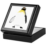 Emperor Chubby Penguin Keepsake Box