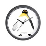 Emperor Chubby Penguin Wall Clock