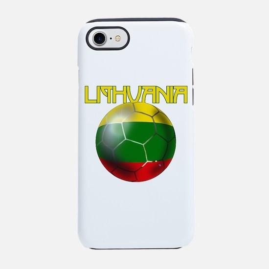 Lithuania Football iPhone 7 Tough Case