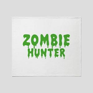 Zombie Hunter Stadium Blanket