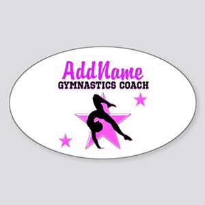 SUPER COACH Sticker (Oval)
