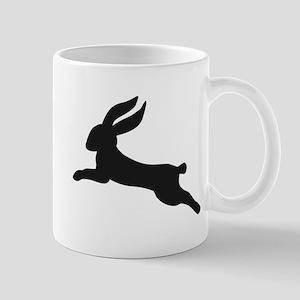 Black bunny rabbit Mug