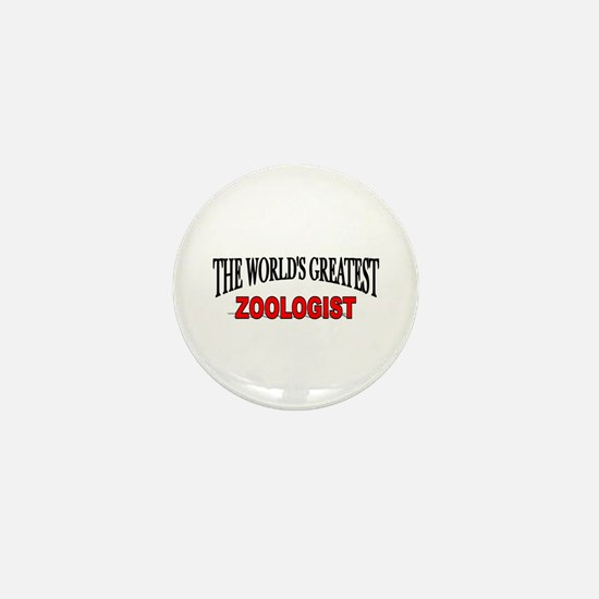 """The World's Greatest Zoologist"" Mini Button"