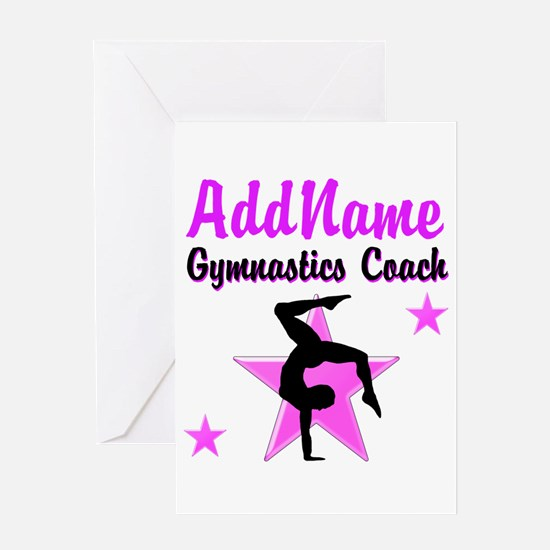 TOP COACH Greeting Card