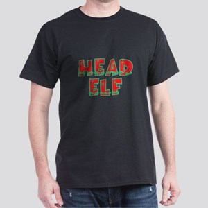 Head Elf Black T-Shirt