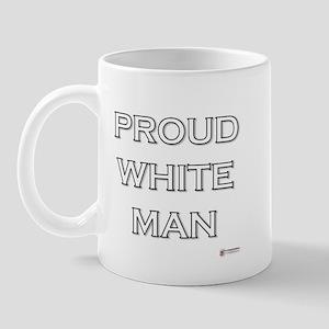 Proud White Man Mug