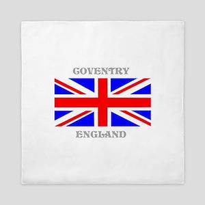 Coventry England Queen Duvet