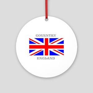 Coventry England Ornament (Round)