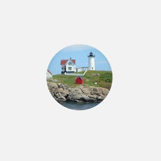 Nubble Lighthouse Mini Button