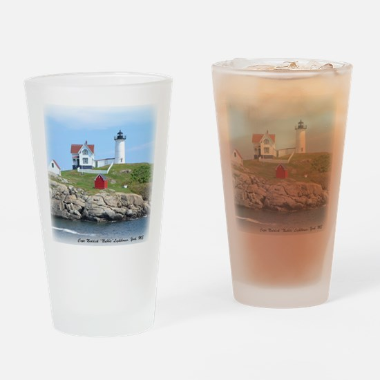 Nubble Lighthouse Drinking Glass