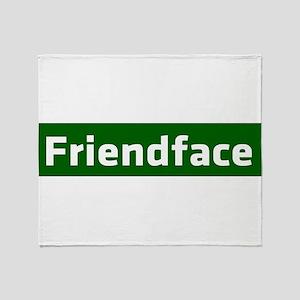 IT Crowd - Friendface Throw Blanket