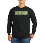 Chemistry Boobs Long Sleeve Dark T-Shirt