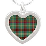 Tartan - Beard Silver Heart Necklace