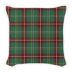 Tartan - Beard Woven Throw Pillow