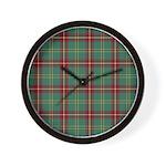 Tartan - Beard Wall Clock