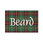 Tartan - Beard Rectangle Magnet (100 pack)