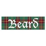 Tartan - Beard Sticker (Bumper)